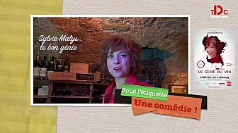 La comédienne Sylvie Malys à Paris au Bistrot du Sommelier avec la complicité du maître des lieux Philippe Faure-Brac @TVdeschefs @Smartrezo
