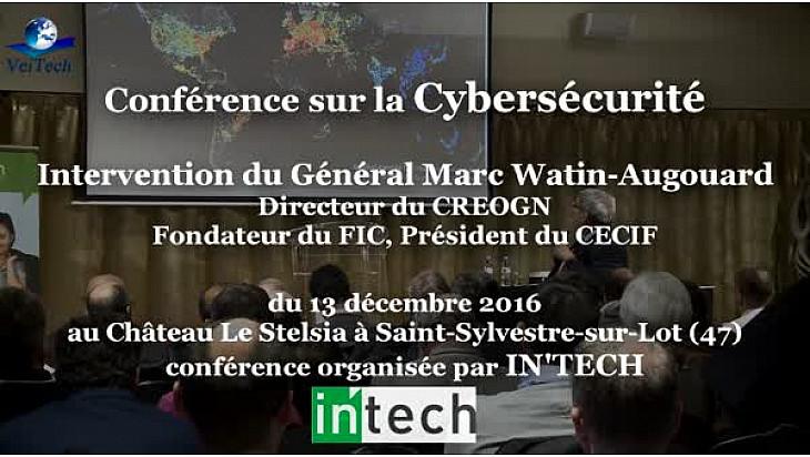 Conférence sur la CyberSécurité par le Général Marc WATIN-AUGOUARD Directeur du CREOGN