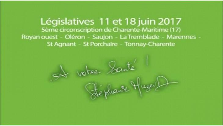 Candidats libres à Royan ! Stéphanie Muzard et Benoît Biteau