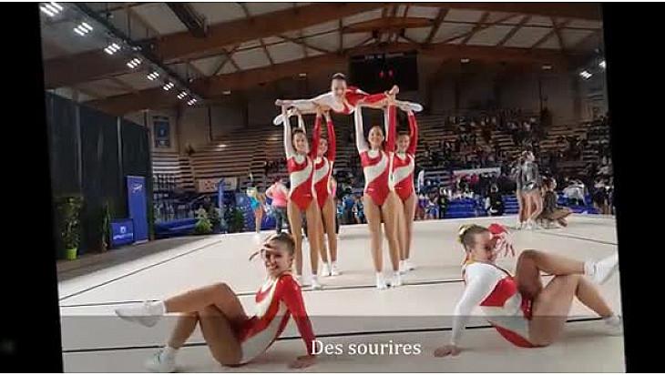 5 titres et 11 podiums aux championnats de France de Gymnastique Aérobic