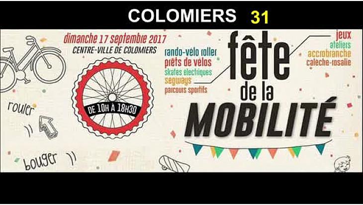 Colomiers, journée de la mobilité #colomiers #déplacements #hautegaronne #tvlocale.fr