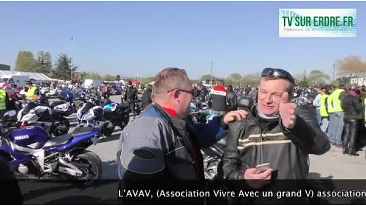 1000 motards à Ancenis !