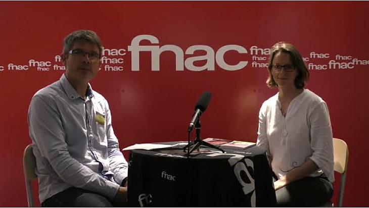 Interview Sophie Herrault à la Fnac de Nantes