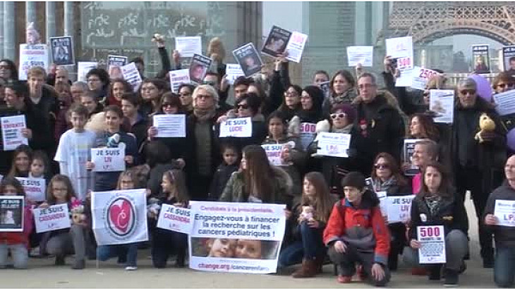 Lutte Contre le Cancer des Enfants: la Flamme de l'espoir est venue briller à Paris @Evapourlavie #CancerEnfants