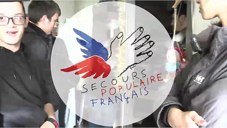 Les Jeunes Reporters de Castelsarrasin ont collecté des jouets pour le Secours Populaire de Castelsarrasin @SecoursPop #Localinfo_fr @tvlocale_fr