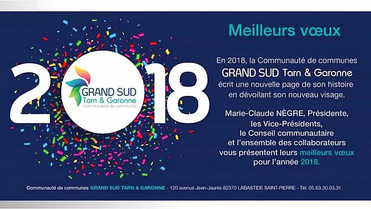 Cérémonie des V½ux 2018 aux collaborateurs de la Communauté de Communes GRAND-SUD Tarn & Garonne @tarnetgaronne_CG