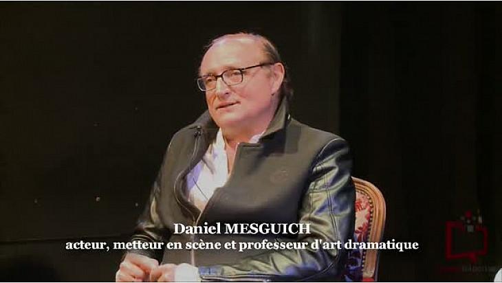 Théâtre : Interview de l'Acteur et metteur en scène  Daniel Mesguich  invité des rencontres Acteurs Artisans de Franck Cabot-David #Théâtre @TvLocale_fr
