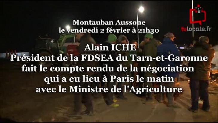 Compte-rendu des Négociations entre le Ministre de l'Agriculture et les Agriculteurs ce vendredi 2 février à Paris @FNSEA @Occitanie @tarnetgaronne_CG