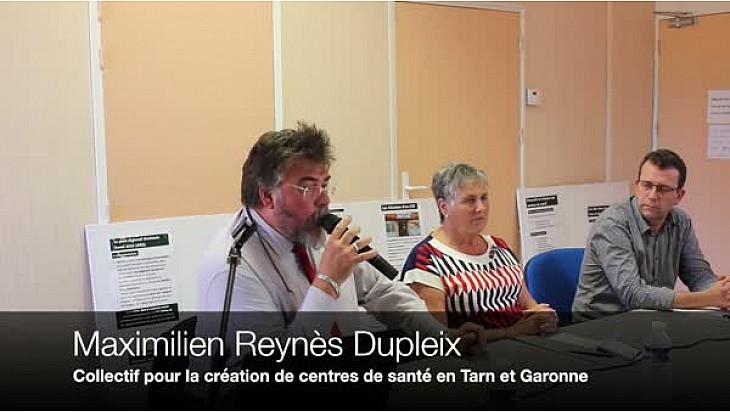 Castelsarrasin. Conférence de Presse du Collectif pour la Création de Centres de Santé en Tarn et Garonne (3CSP82)