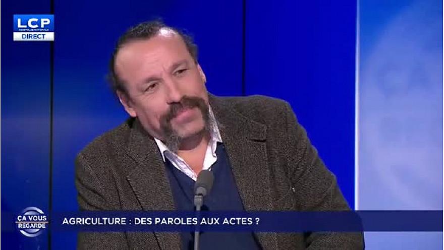 Benoît Biteau sur LCP la chaîne parlementaire