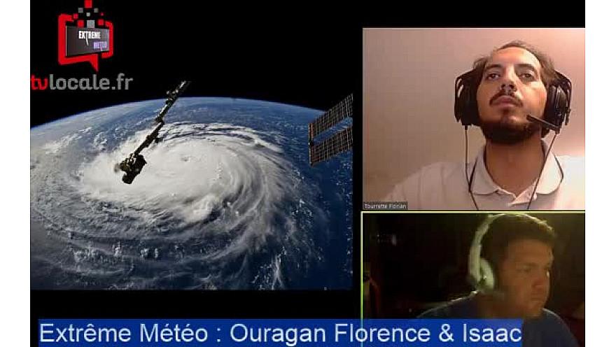 Episode 1 : les ouragans Florence et Isaac en route vers les côtes américaines !