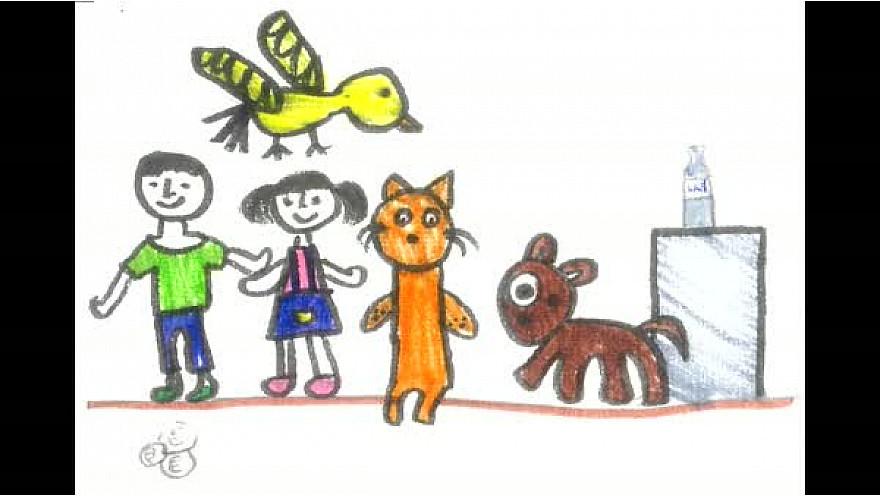 Les enfants de l'école Libermann à Illirch (67) ont interprété l'opéra pour enfants  ' Brundibar'