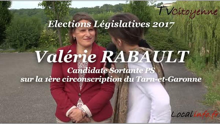 Valérie RABAULT candidate PS aux Elections Législatives 2017 en Tarn-et-Garonne sur la 1ère circonscription