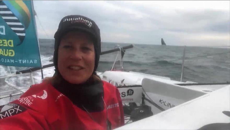 Route du Rhum 2018 :  Golfe sélectif avec une première nuit agitée et de la casse pour 2 Ultimes