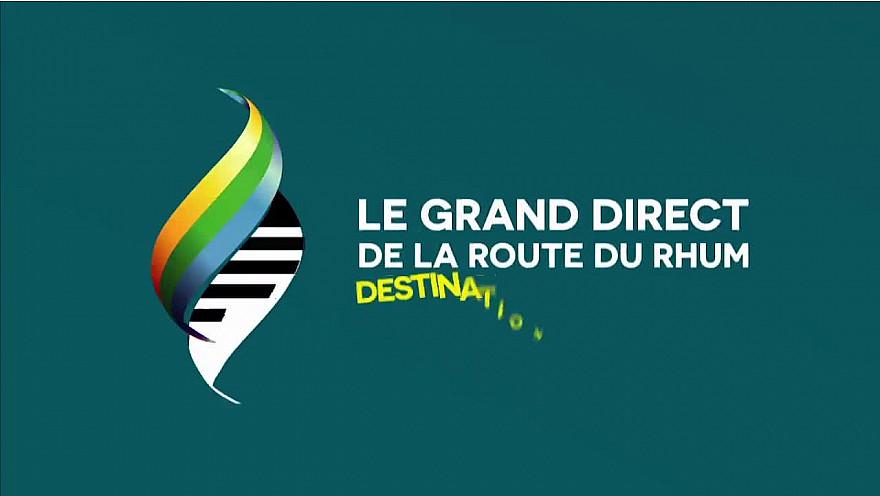 Première Emission de la Route du Rhum après 5 jours de course mouvementés: Des témoignages en direct, de superbes images et un point sur les positions. @routedurhum
