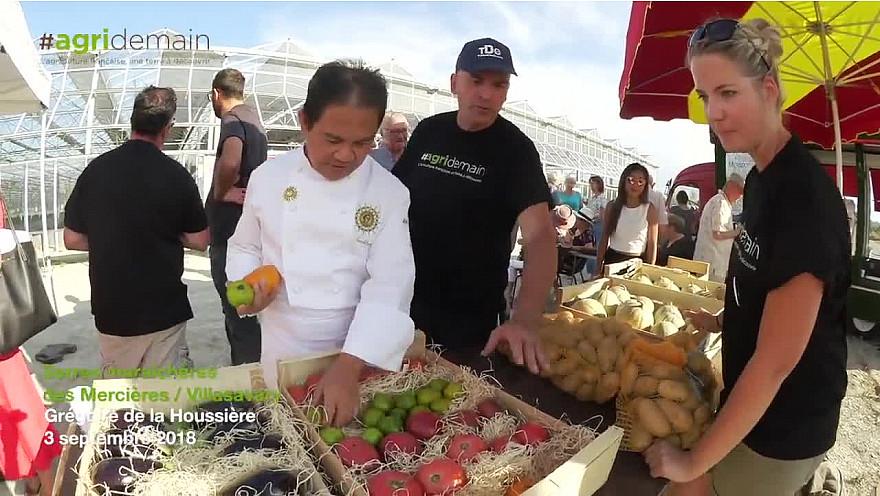 #AgriDemainTour: Le chef CHEA enchante nos papilles ! @TVdeschefs #Smartrezo