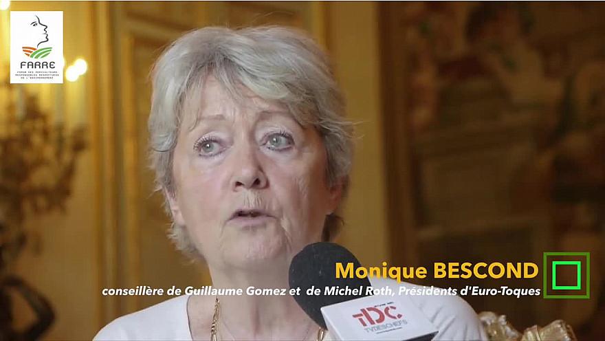 Journée nationale de l'agriculture: Monique Bescond (Euro-Toques France Officiel) et Christophe Grison donnent leur avis @TVdeschefs @agritof60 #Smartrezo